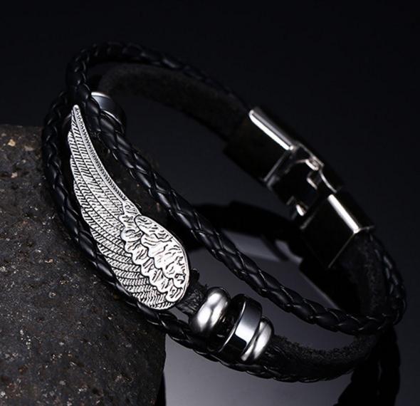 Кожаные женские браслеты купить в украине